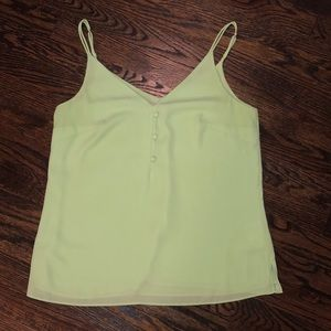 Lilly Pulitzer Lailah Cami in Celery